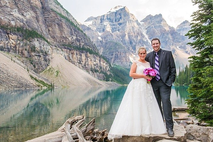 Moraine Lake Elopement | One Edition Photography | portraits