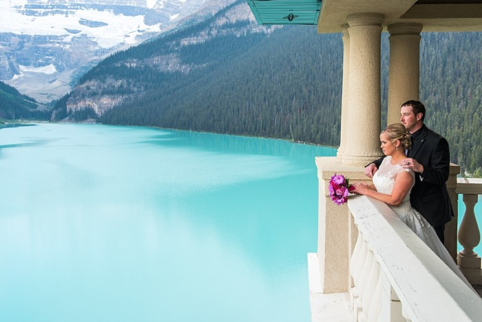 Moraine Lake Elopement | One Edition Photography | Chateau Lake Louise
