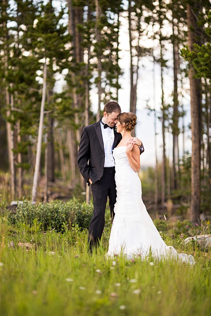 bride and groom | Breckenridge wedding at 10 Mile station |INphotography