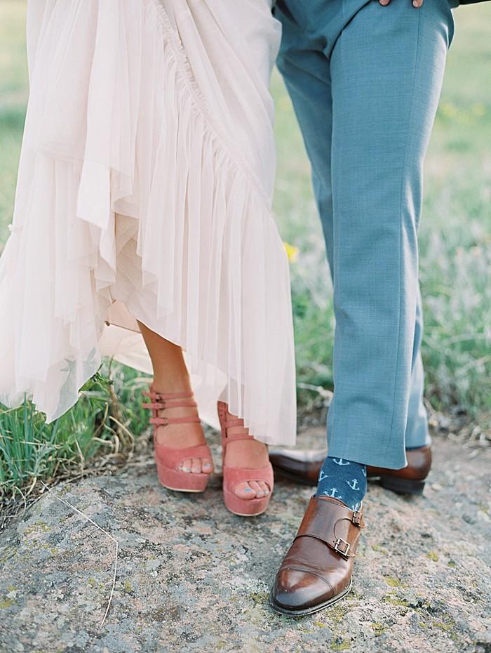 shoes |  Boulder Colorado Wedding | Laura Murray
