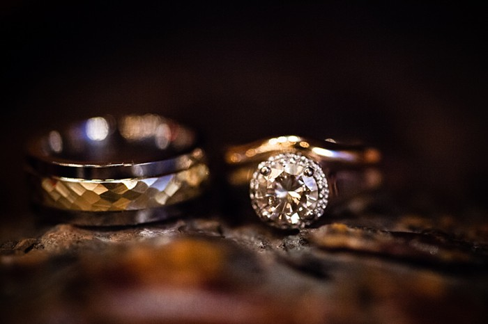 wedding rings | winter Revelstoke wedding | Christina Louise Photography