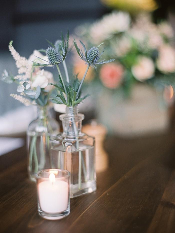 rustic table setting |  Boulder Colorado Wedding | Laura Murray