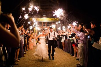sparklers | Breckenridge wedding at 10 Mile station |INphotography