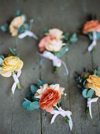 boutonnieres |  Boulder Colorado Wedding | Laura Murray
