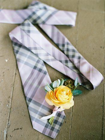 plaid tie |  Boulder Colorado Wedding | Laura Murray