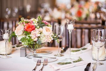 centerpiece | Breckenridge wedding at 10 Mile station |INphotography
