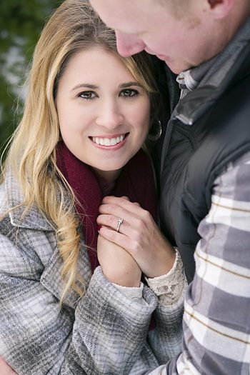 Winter Engagement at Snoqualmic Mountain | Alante Photography