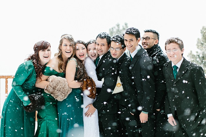 Frozen Winter Utah Mountain Wedding | Meg Ruth Photo