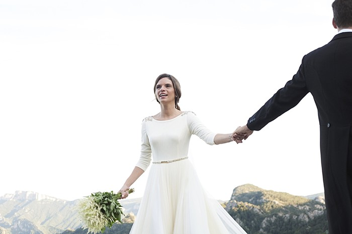 Pyrenees mountain wedding | Kiss Me Frank
