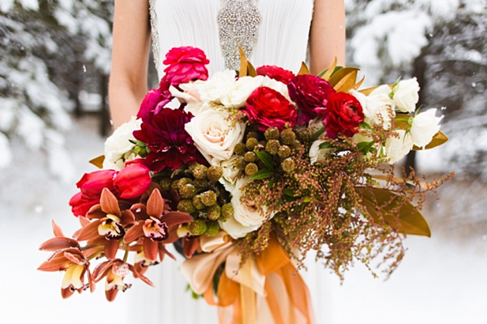 winter wonderland wedding inspiration | Photo by eb+jc photography