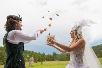 Bohemian Butterfly wedding | James Moro Photography