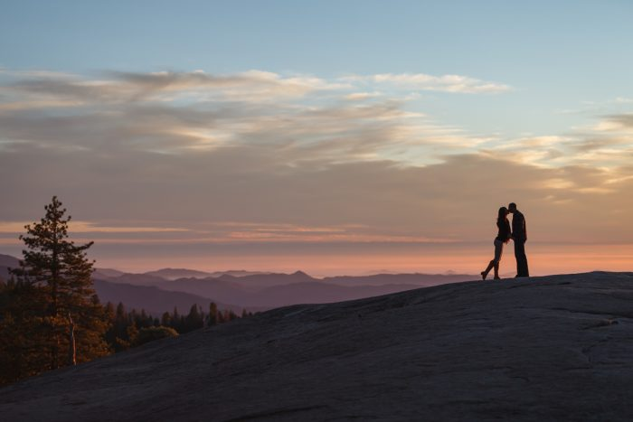 Getting married in Sequoia National Park | Beetle Rock 01