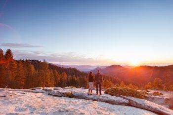 Getting married in Sequoia National Park | Beetle Rock 03