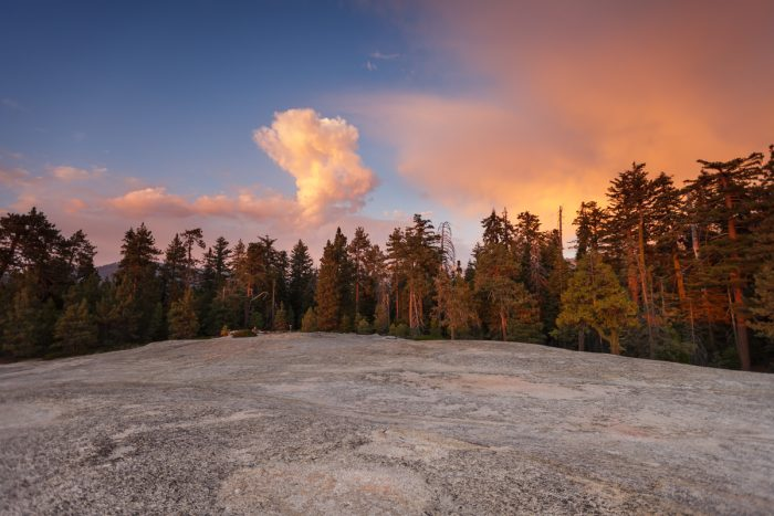 Getting married in Sequoia National Park | Sunset Rock 01