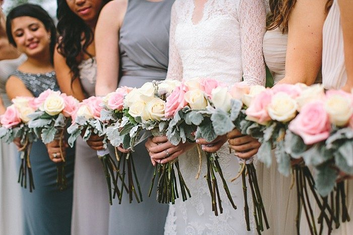 bridesmaids rose bouquets | Cherokee National Park | JOPHOTO photography