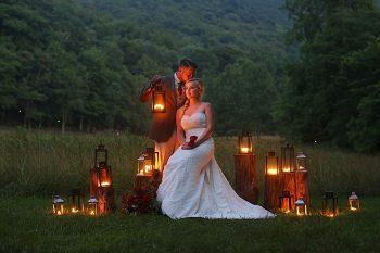 Romantic Red Wedding Inspiration | Smoky Mountains | Julie Roberts Photographic Artist