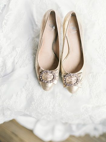 gold wedding shoes | Cherokee National Forest | JOPHOTO photography