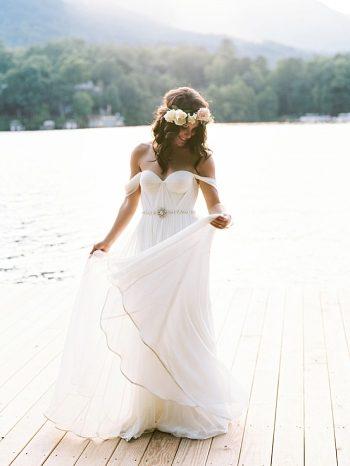 Lake Lure wedding | Jo Photo