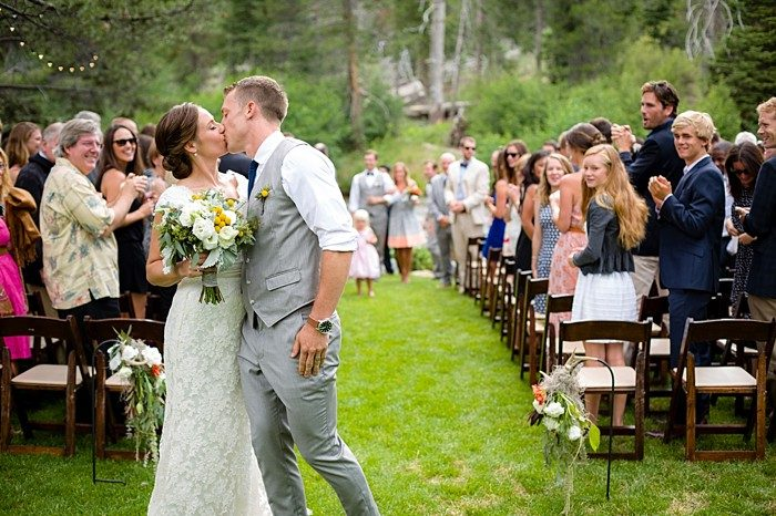Lake Tahoe Wedding by a River | Eric Asistin