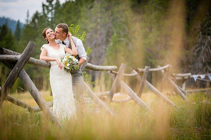 Lake Tahoe Wedding by a River | Eric Asistin