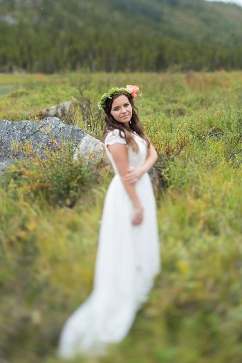 Alaska Bridal Shoot | Tyler Rye Photography