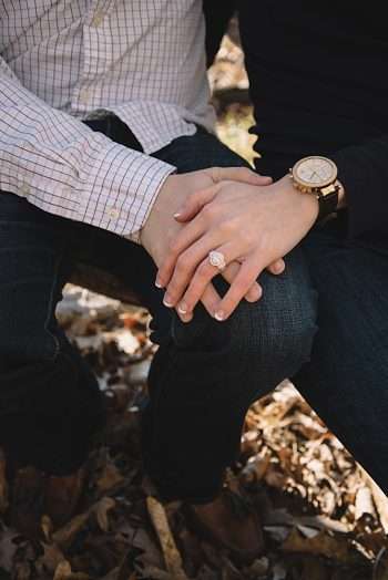 Treetop Mountain Engagement | Nicole Colwell Photography