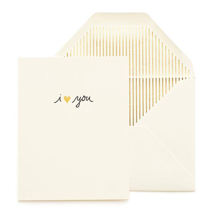JCREW + Paper Sugar | I Love You