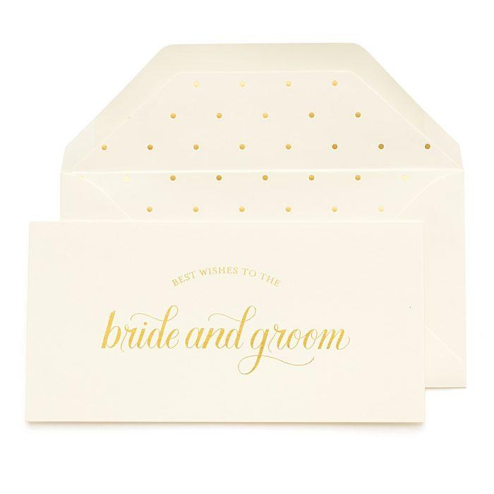 JCREW + Paper Sugar | Best Wishes Bride and Groom