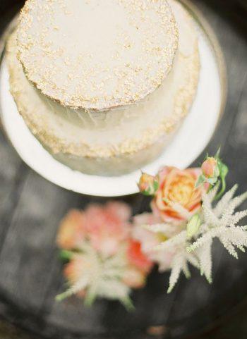 Spring Flower Wedding Cake | Hey Wedding Lady