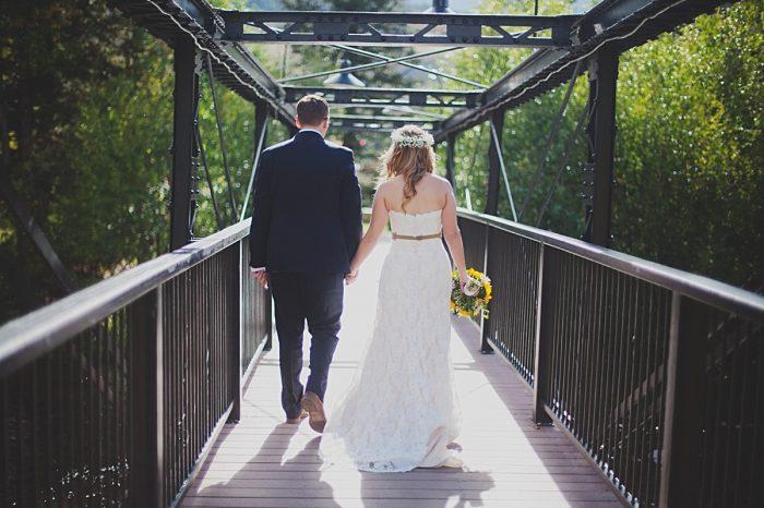 Fall wedding in Silverthorne Colorado   Leah McEachern Photography