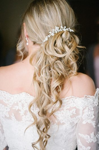 bridal hair | Colorado wedding | Lisa Anne Photography