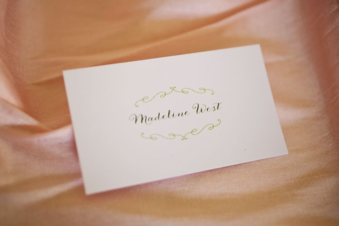 Rustic and Romantic Park City Wedding | placecard | Pepper Nix Photography