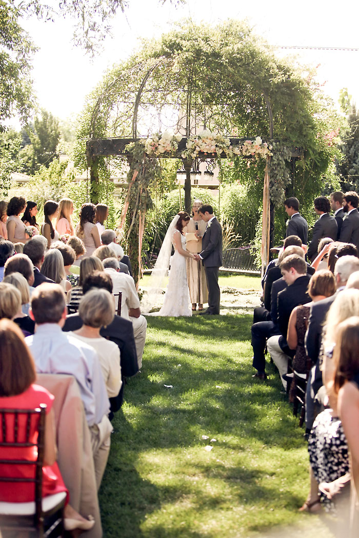 Rustic and Romantic Park City Wedding | outdoor ceremony | Pepper Nix Photography