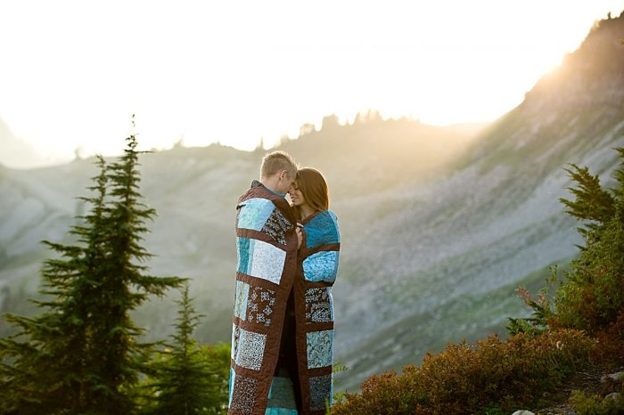 Mount Baker Engagement Shoot in Washington | Evantide Photography