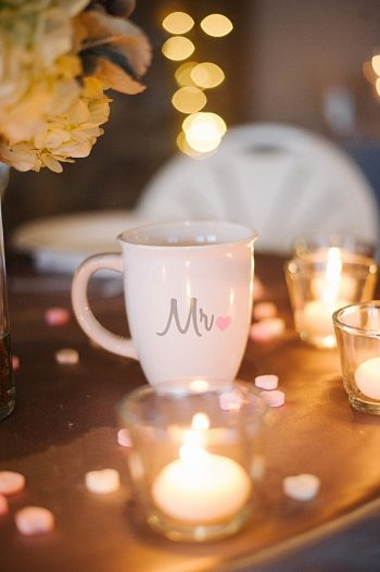 custom wedding mugs | Colorado wedding | Lisa Anne Photography