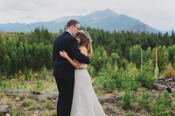 Fall wedding in Silverthorne Colorado | Leah McEachern Photography