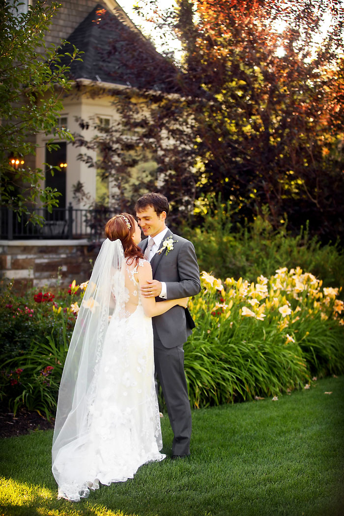 Rustic and Romantic Park City Wedding | bride and groom | Pepper Nix Photography