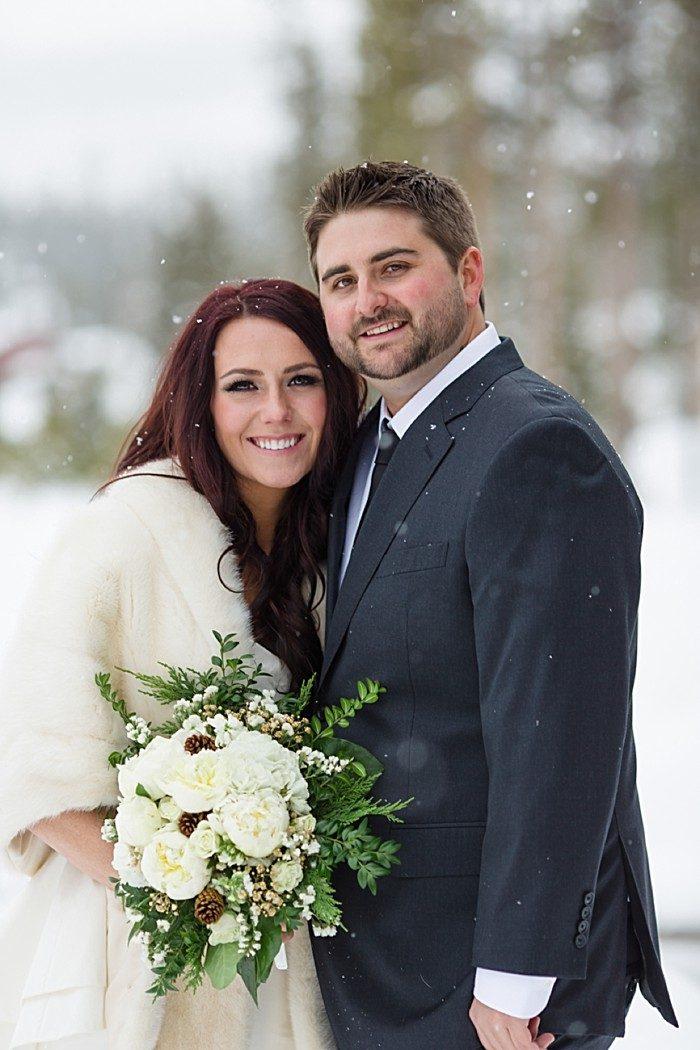 Winter Colorado wedding | Laura Smith