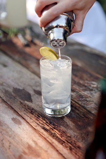 Rustic and Romantic Park City Wedding | signature drinks | Pepper Nix Photography