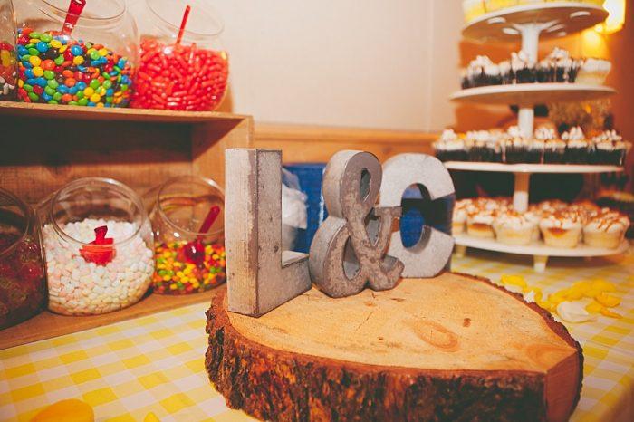 dessert bar   Fall wedding in Silverthorne Colorado   Leah McEachern Photography