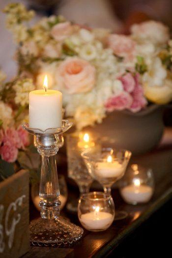 Rustic and Romantic Park City Wedding | centerpiece | Pepper Nix Photography