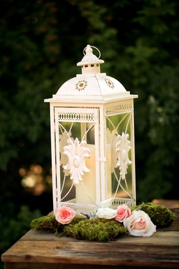Rustic and Romantic Park City Wedding | candle lantern | Pepper Nix Photography