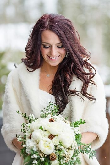 Winter Colorado wedding | Laura Smith