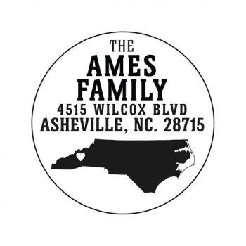 Stamp North Carolina
