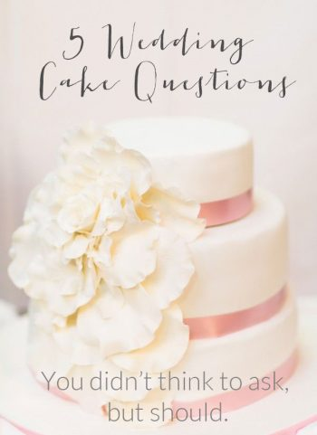 5 Wedding Cake Questions You Didn't Think to Ask But Should | Belle and Chic