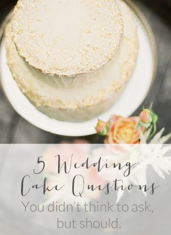 5 Wedding Cake Questions You Didn't Think to Ask But Should | Hey Wedding Lady