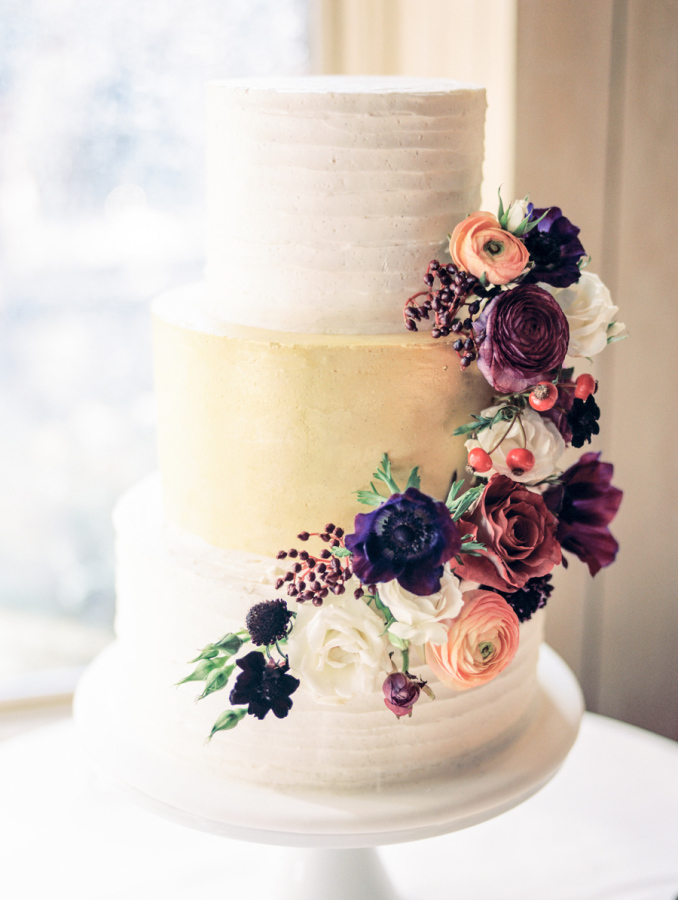 Autumn Inspired Wedding Cake