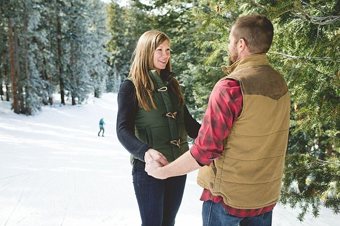 Aspen Colorado Engagement | Mallory + Justin Photography