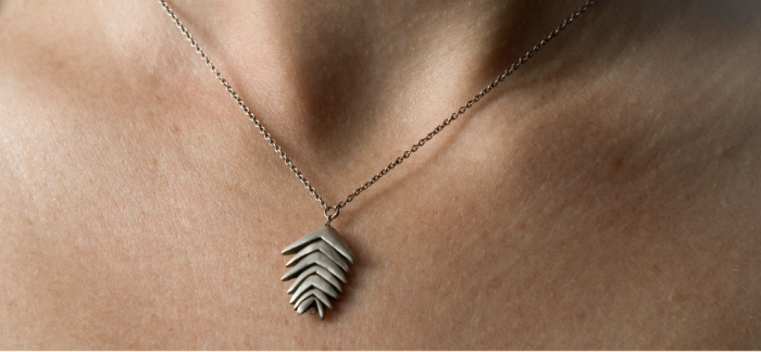 boho and nature-inspired necklace by colby june