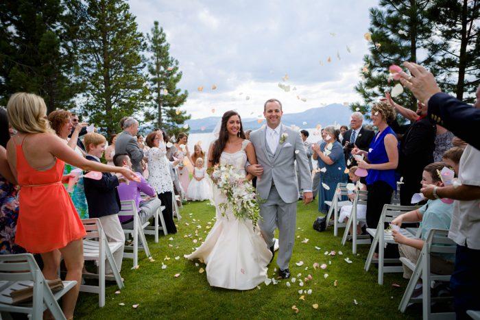 Wedding Ceremony | Lake Tahoe Wedding | Eric Asistin Photographer